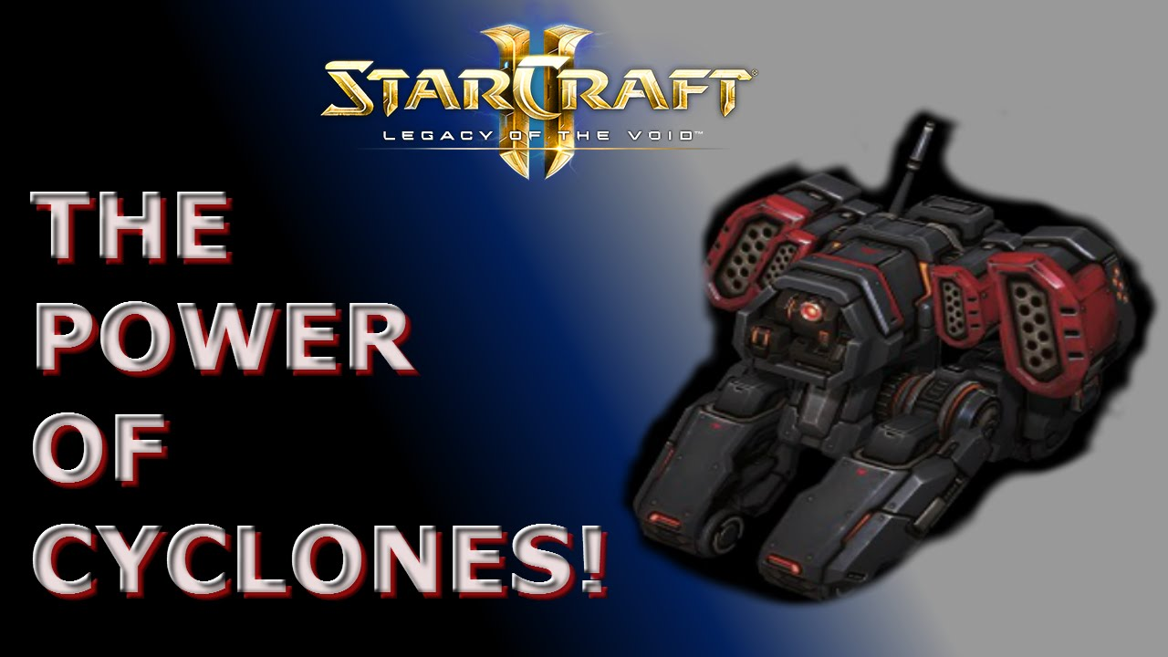 Starcraft 2 LOTV: 3v3 (Cyclones in team games)