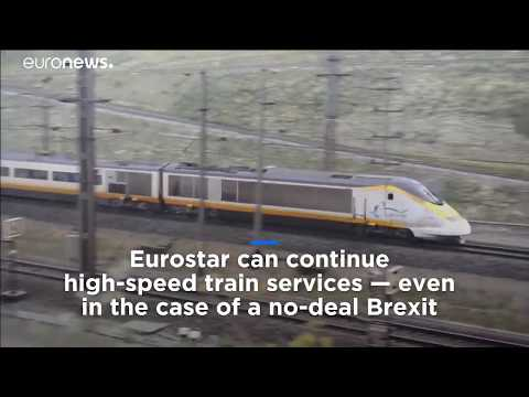No-deal Brexit: Eurostar gets signal it can run in France if UK leaves EU without an agreement