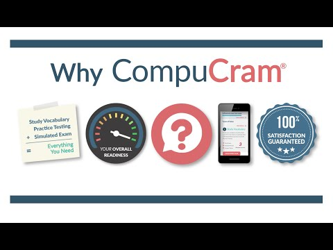 CompuCram: The only complete exam prep system