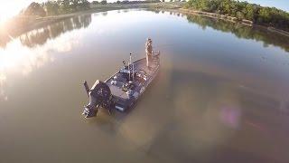 Bass Fishing On Gary Yamamoto Ranch Ft. Jon B and Andrew Flair