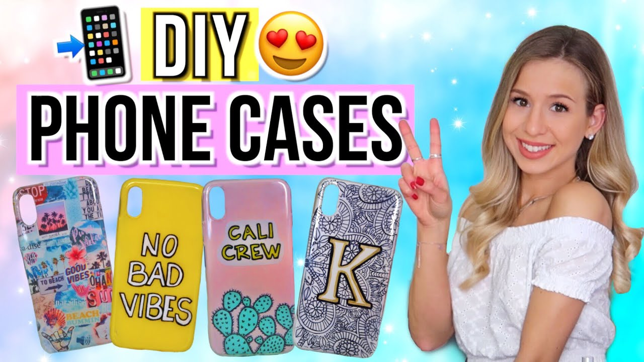 diy handyh llen phone case selber machen cali kessy. Black Bedroom Furniture Sets. Home Design Ideas