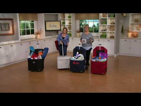 Smart Cart Wide Load Multi-Purpose Folding Cart with Wheels on QVC