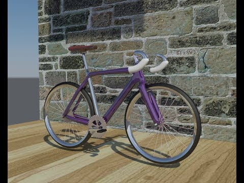 3DSMAX +MENTAL RAY to build Bicycle model (5X speed)