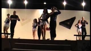Actuación bachata urbana Salero Latino -