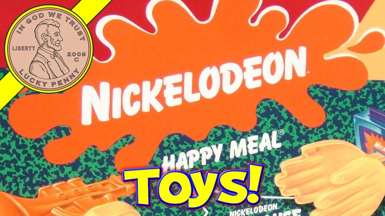 Nickelodeon GAK McDonald s 2002 Retro Happy Meal Toys