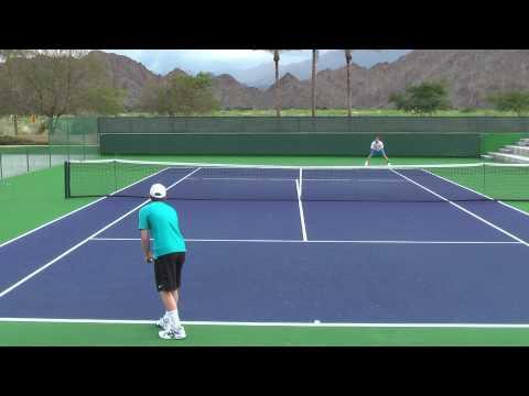 03 06 2010 Jessie Levine practicing at Indian Wells Tennis Garden