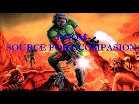 Doom Source Port Comparison - DOSBOX, GZDOOM, DOOMSDAY -