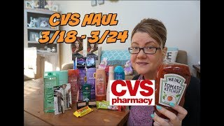 CVS HAUL 3/18 - 3/24 | 62¢ Ketchup, FREE shampoo & more!