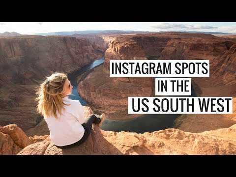 6 OF THE BEST INSTAGRAM SPOTS IN THE US SOUTHWEST | US SOUTH WEST ROAD TRIP LOCATIONS