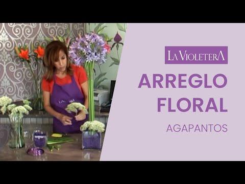 Como hacer una arreglo de flores la violetera escuela y - Hacer un centro de flores ...