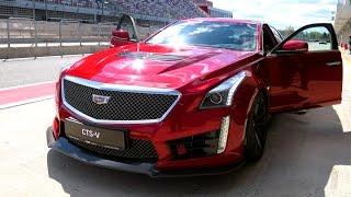 Тест-драйв Cadillac CTS-V