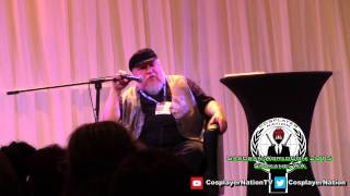 George R. R. Martin Q on Themes in Winds of Winter & The Turtle @ WorldCon 2015