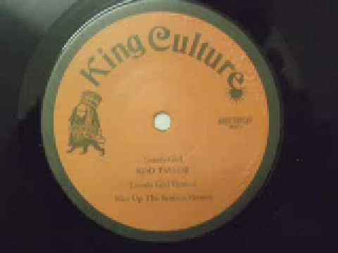 """ROD TAYLOR - Lonely Girl - reggae dub 12"""" single roots versions"""