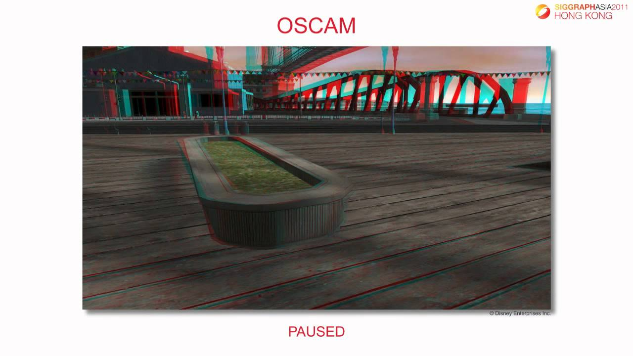 OSCAM - Optimized Stereoscopic Camera Control for Interactive 3D (SIGGRAPH  Asia 2011)