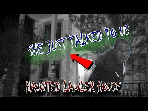 Urban Exploration #1 The Haunted Lawler House