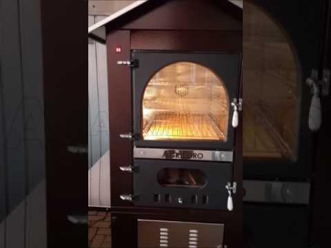 Forno a legna in acciaio da esterno AgriEuro Magnus 100 Deluxe EXT ...