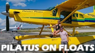 Pilatus Porter on Floats - Flight & Pilot Interview thumbnail