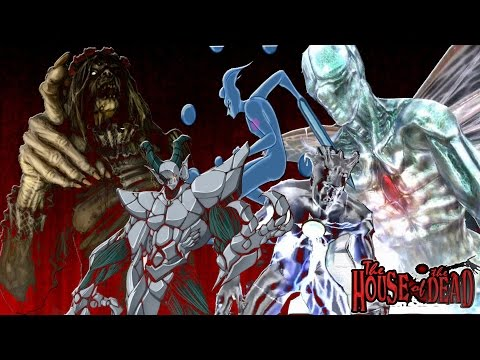 The House Of The Dead All Final Boss Themes Youtube