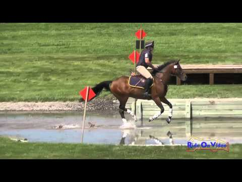 296XC Jeff Goodwin on Snip Of The Mist SR Training Cross Country The Event at Rebecca Farm July 2015