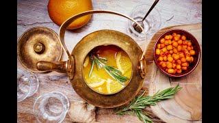 Вкуснейший облепиховый чай!!!!!!!!!!!!! Укрепляем иммунитет!!!!!!!