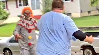 SCARY CLOWN FROM WOODS GETS KNOCKED OUT!! Mp3
