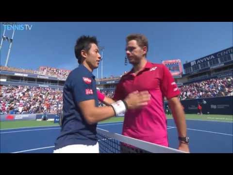 2016 Rogers Cup: Semi-Final Highlights ft. Djokovic v Monfils & Nishikori v Wawrinka