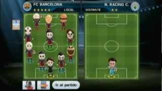 Pes 2011 Wii Ep.1 Burger king  y el fútbol