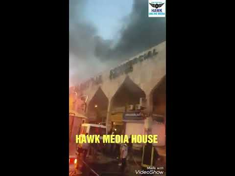 RIYADH BATHA COMMERCIAL CENTRE FIRE ACCIDENT.. HAWK MEDIA HOUSE