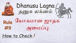 Dhanusu Lagna - Fortune Horoscope - Astrology Rule #9