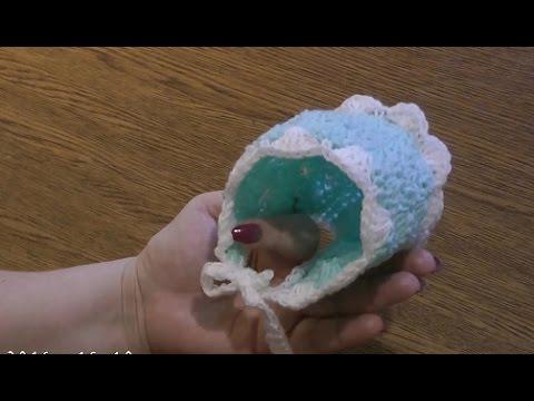 Вяжем крючком для новорожденных