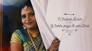 Sridhar and Sakthi Engagement Cinematic by MM Studio Salem