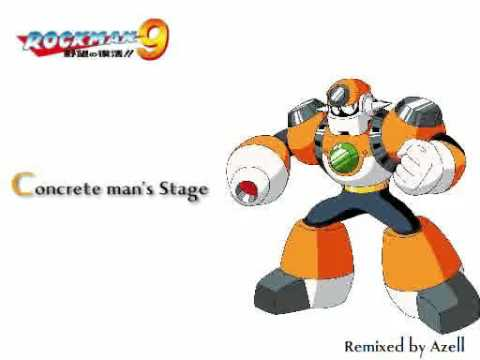 Mega Man9 : Concrete Man Remix