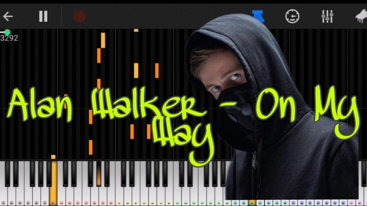 Alan Walker - On My Way (Perfect Piano) - YouTube