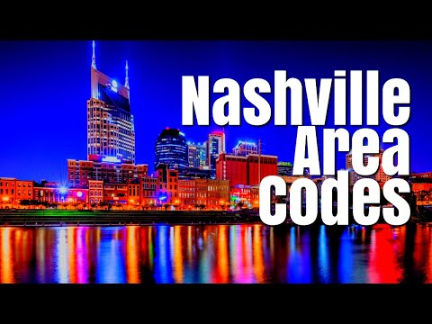 Moving To Nashville Tennessee - Area Codes