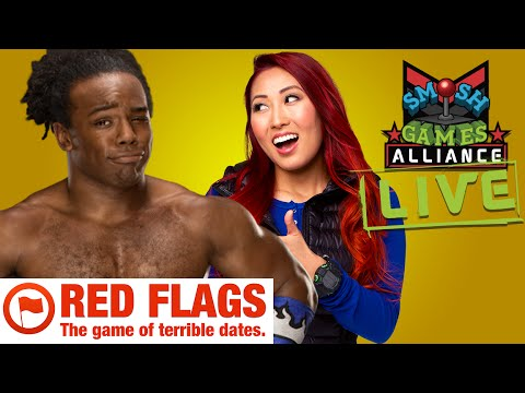 RED FLAGS LIVE W/ XAVIER WOODS & SMOSH GAMES