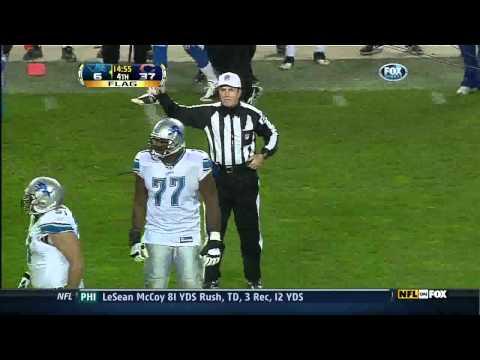 Lance Briggs Wrecks Calvin Johnson