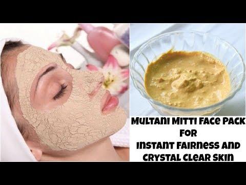मुल्तानी मिटटी से तुरंत गोरी त्वचा पाने के चमत्कारी उपाय | Multani Mitti Face Pack For Fair Skin