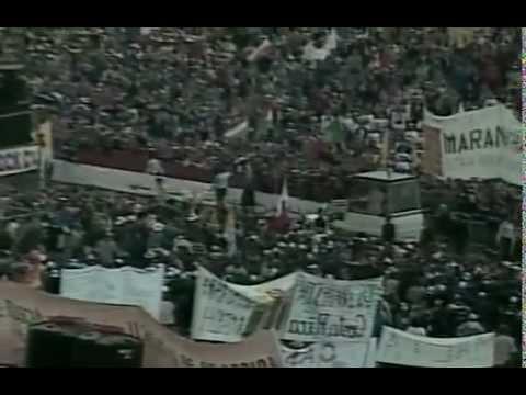 Visita De Juan Pablo II A La Domus Galileae (2000)