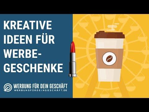 Kreative Ideen für Werbegeschenke