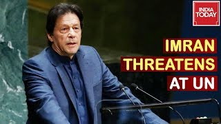 """Anything Can Happen Now"" Imran Khan Threatens At UN While PM Modi Pitches For Peace"