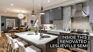 Inside a Renovated Leslieville Semi