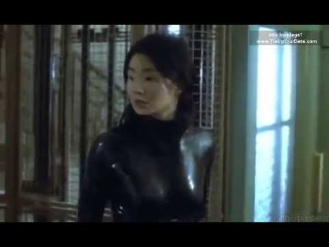 Maggie Cheung in latex from Irma Vep (1996)