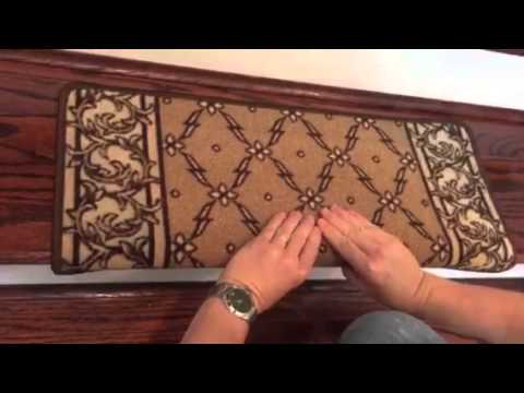 Superior Installing Bullnose Carpet Stair Treads By Dean Flooring Company   YouTube