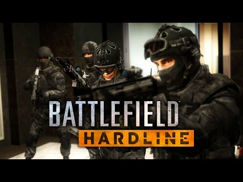 Battlefield Hardline Game Movie (All Cutscenes) HD