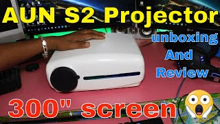 wZATCO S2 Native 1080p 5500 Lumens LED Projector Video Test