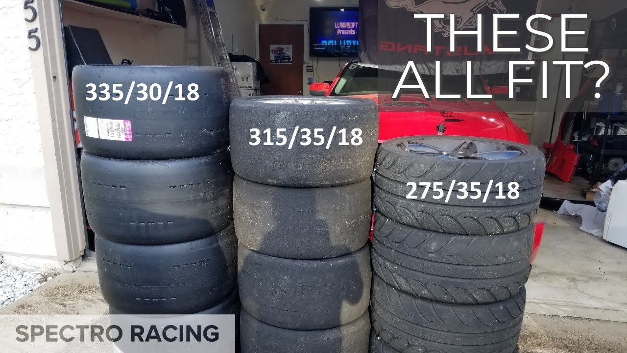 Tire Size Comparison >> 335s To 275s Tire Size Difference Stacked