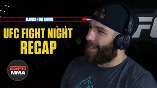 Michael Chiesa explains Colby Covington callout | UFC Fight Night Post Show | ESPN MMA