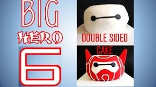 Big Hero 6 Baymax / Armor-Up Baymax Marvel Superhero Cake (How to make)