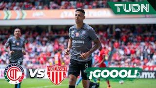 ¡Gool de Quiroga! Necaxa remonta | Toluca 2 - 3 Necaxa | Liga Mx - CL 2020 - J2 | TUDN