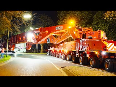 Heavy Transport - 600 Tons get stuck | High Girder Bridge
